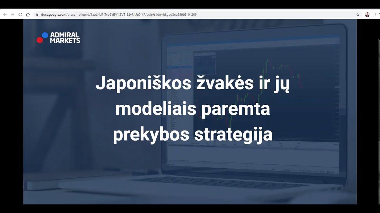 youtube prekybos strategija)