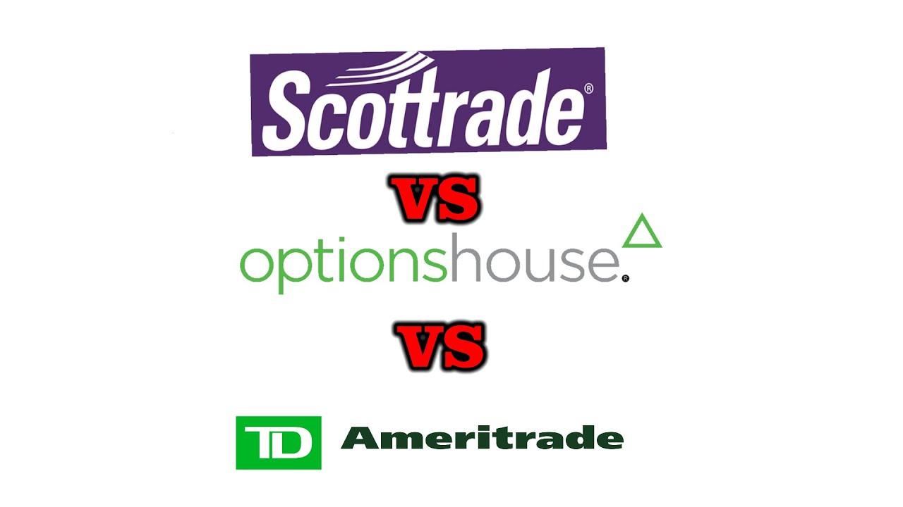 scottrade vs optionshouse)