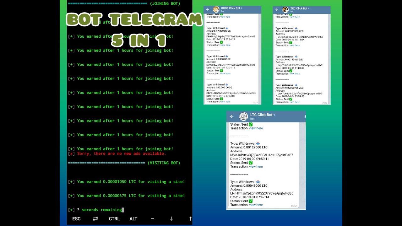 btc bot telegrama termux