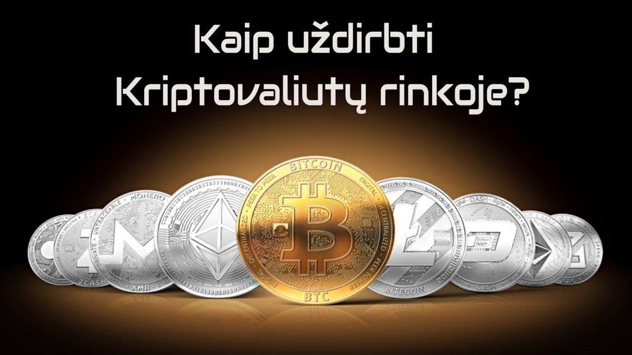 Jau galite kasant ar bitkoinus?