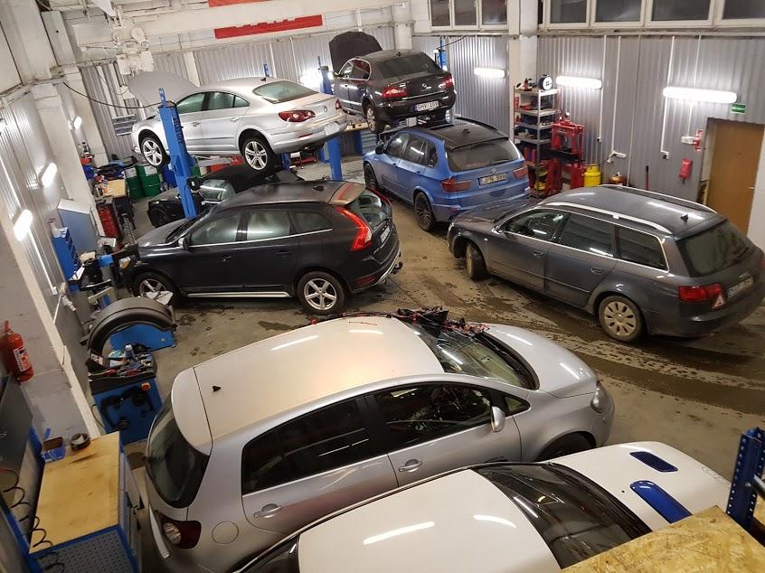 prekybos automobiliais galimybės