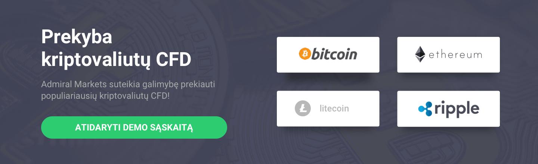 geriausia kriptografija investuoti ethereum ripple ar litecoin)