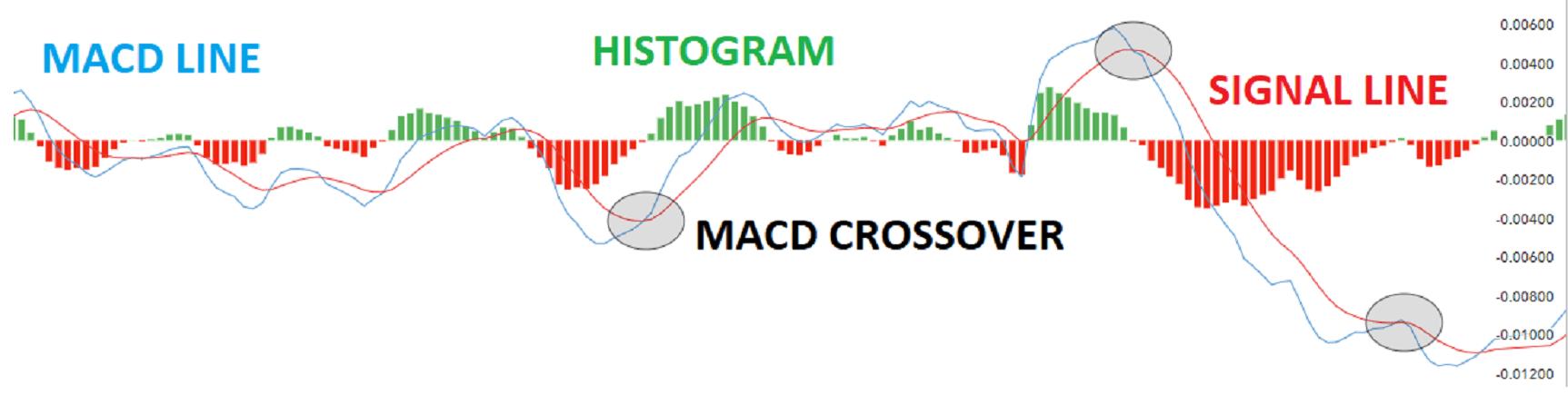 macd crossover prekybos strategija
