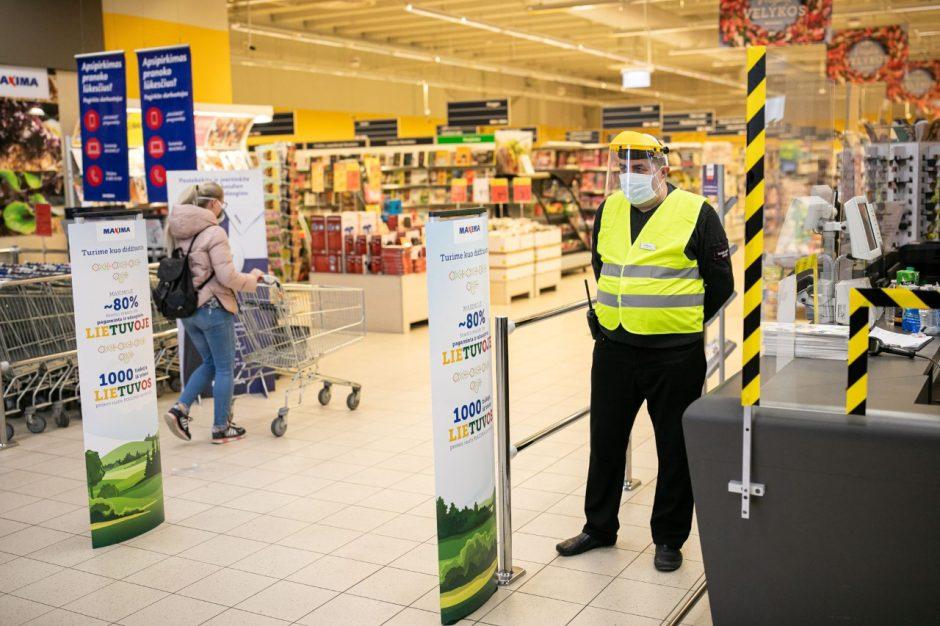 prekybos centais atsargos)