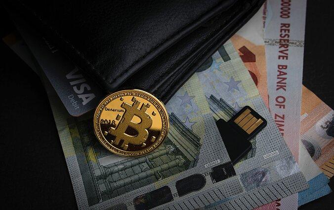 a prekybininkas bitkoinu)
