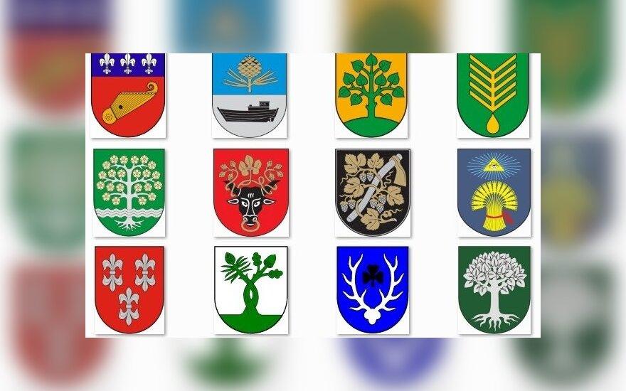 Vokietijos vėliava ir herbas: kilmės simbolis ir simbolių reikšmė