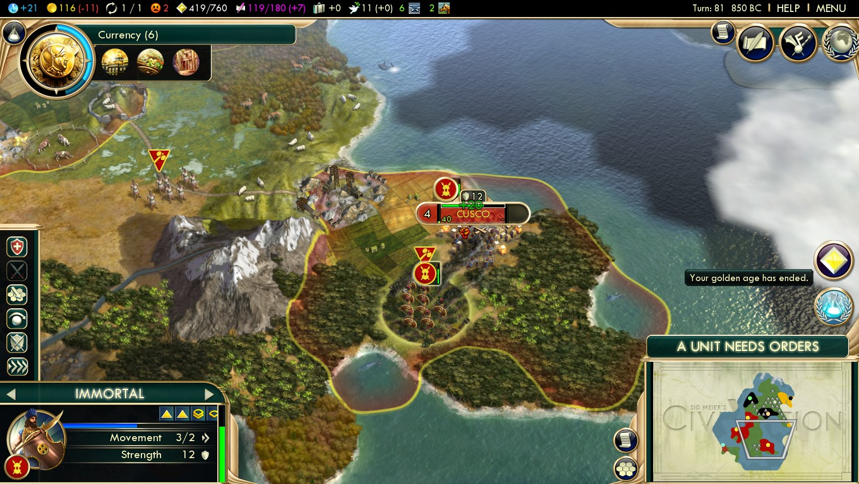 persia strategija civ 5 bnw