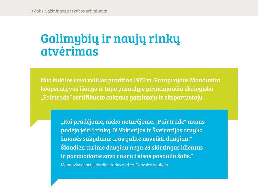 """Į Lietuvą atkeliauja """"Sąžiningos prekybos"""" ženklas - Verslo žinios"""