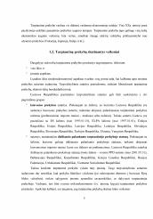 sisteminga tarptautinės prekybos sistemos raida)
