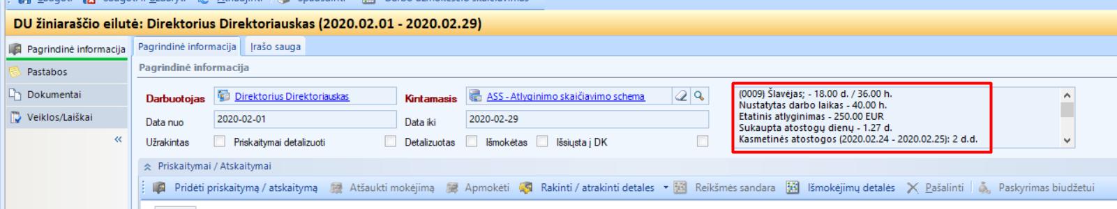 prekybos įrašų informacijos valdymo sistema)
