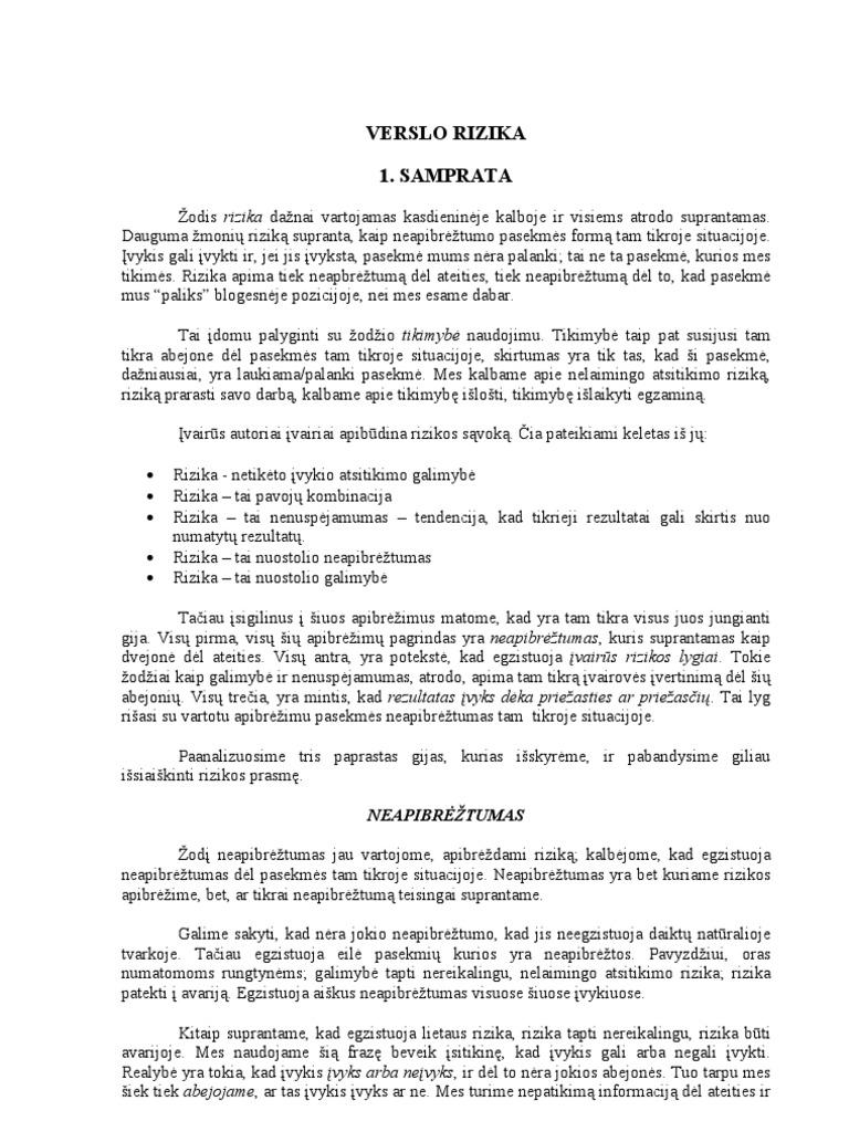 skatinamųjų akcijų pasirinkimo sandorių pateikimas)