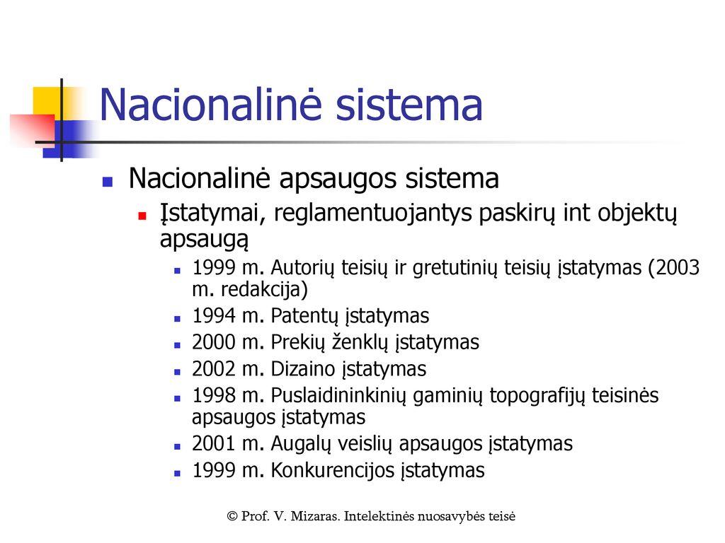 prekybos teisių gynimo sistema)