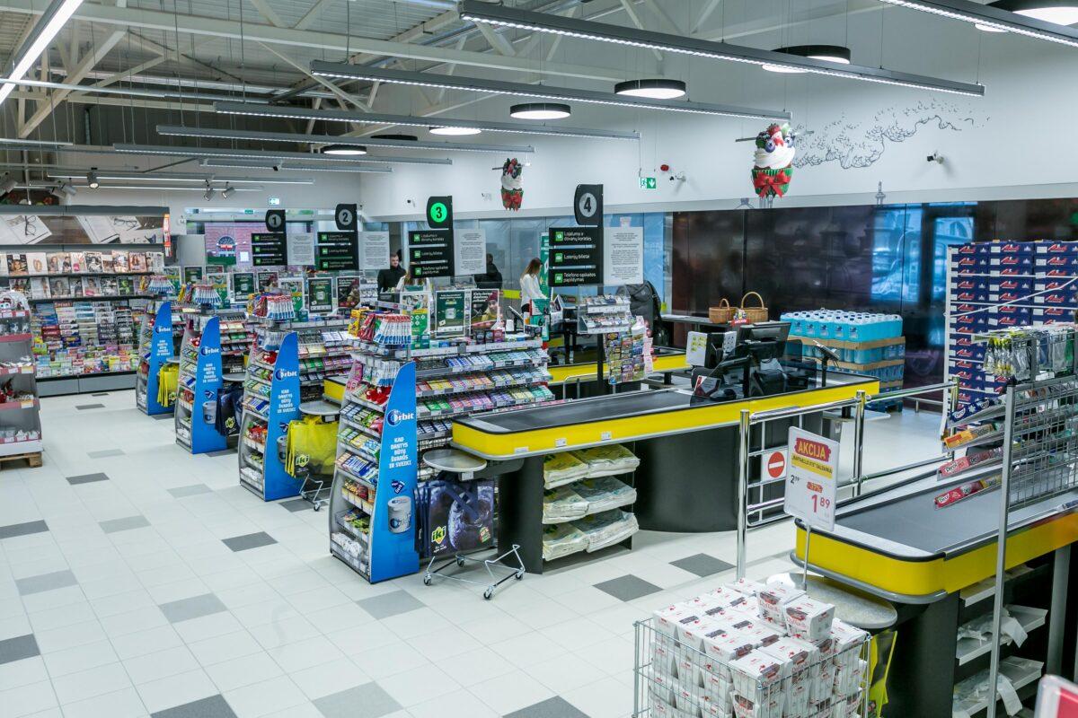 parduotuvių prekybos sistema