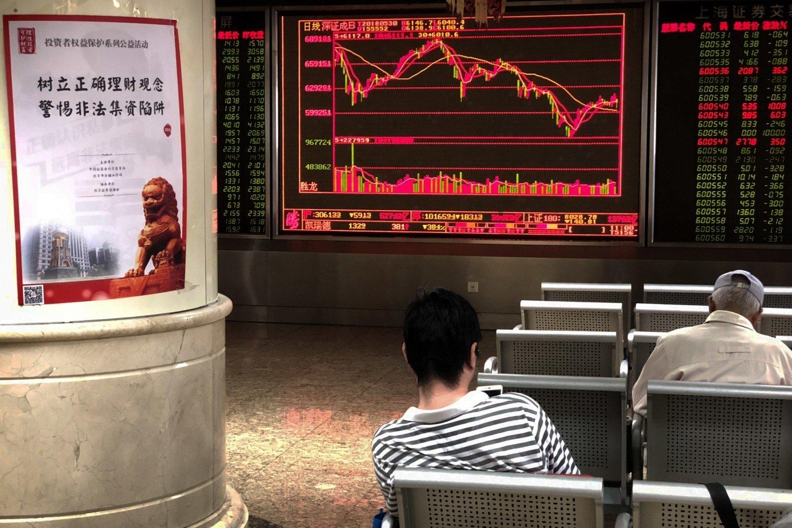 kinijos akcijų rinkos galimybės)