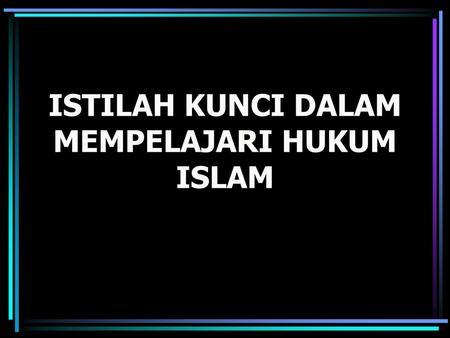hukum islamo dvejetainis variantas