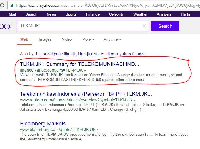 """Rodyti atsargų duomenis iš """"Google Finance"""" arba """"Yahoo!"""" Finansai"""