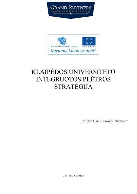 universiteto strategija