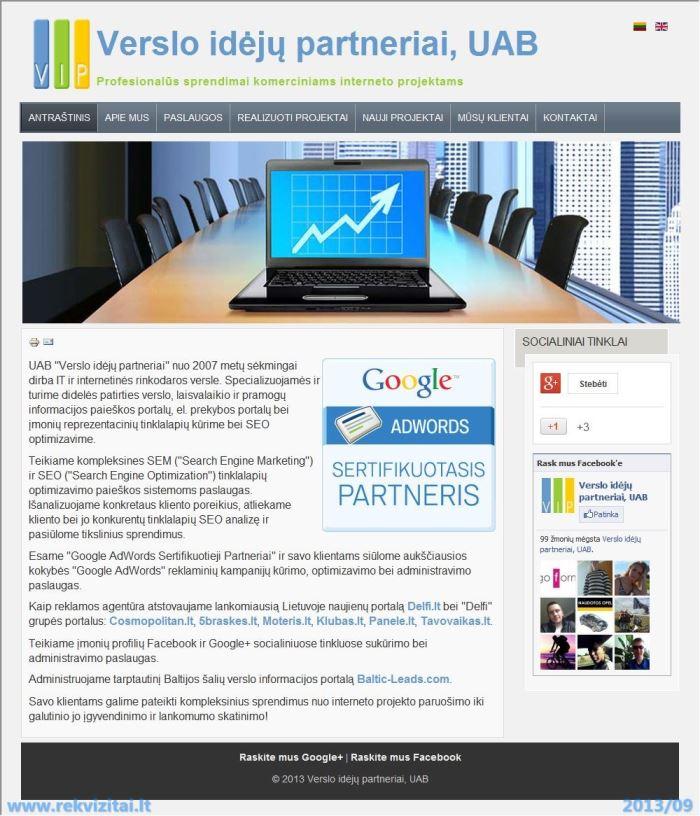 Reklama Google vaizdinės reklamos tinkle | VIP
