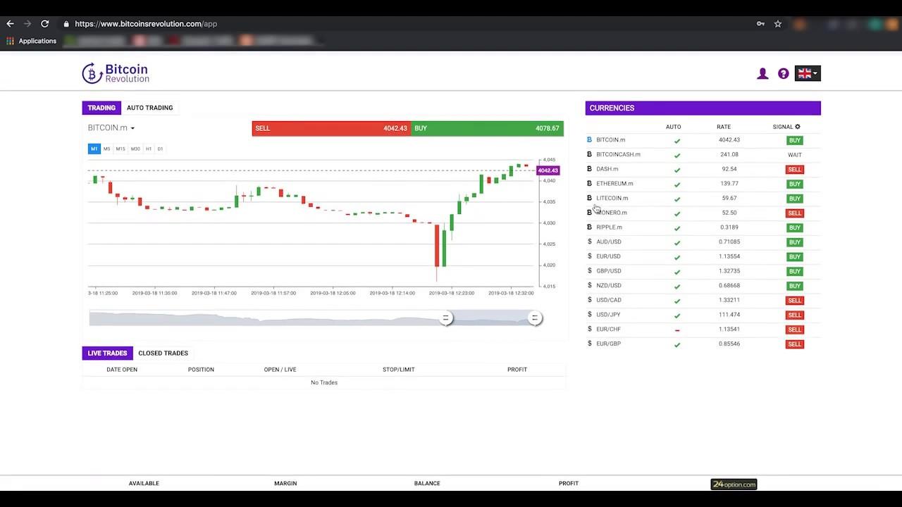 Bitcoin Auto Prekybininko Programa