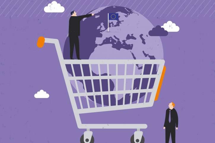 daugiašalės prekybos sistemos pavyzdys)