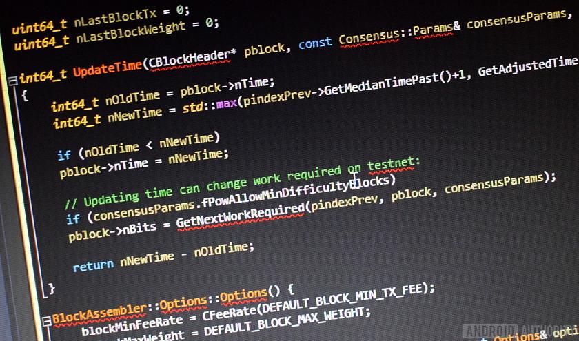 bitcoin hash code)