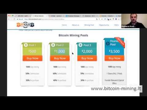 bitcoin investicinio pasitikjimo akcij padalijimas  u