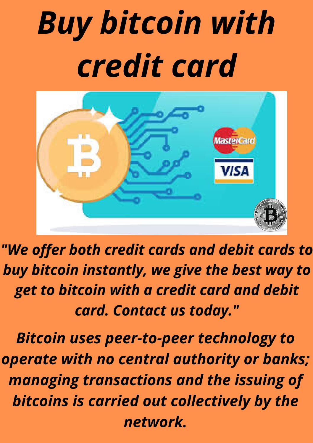 buy bitcoin with credit card)