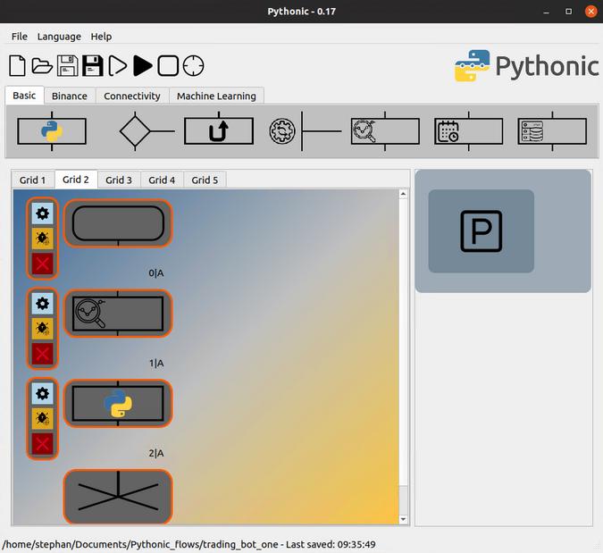 binance python bot example)