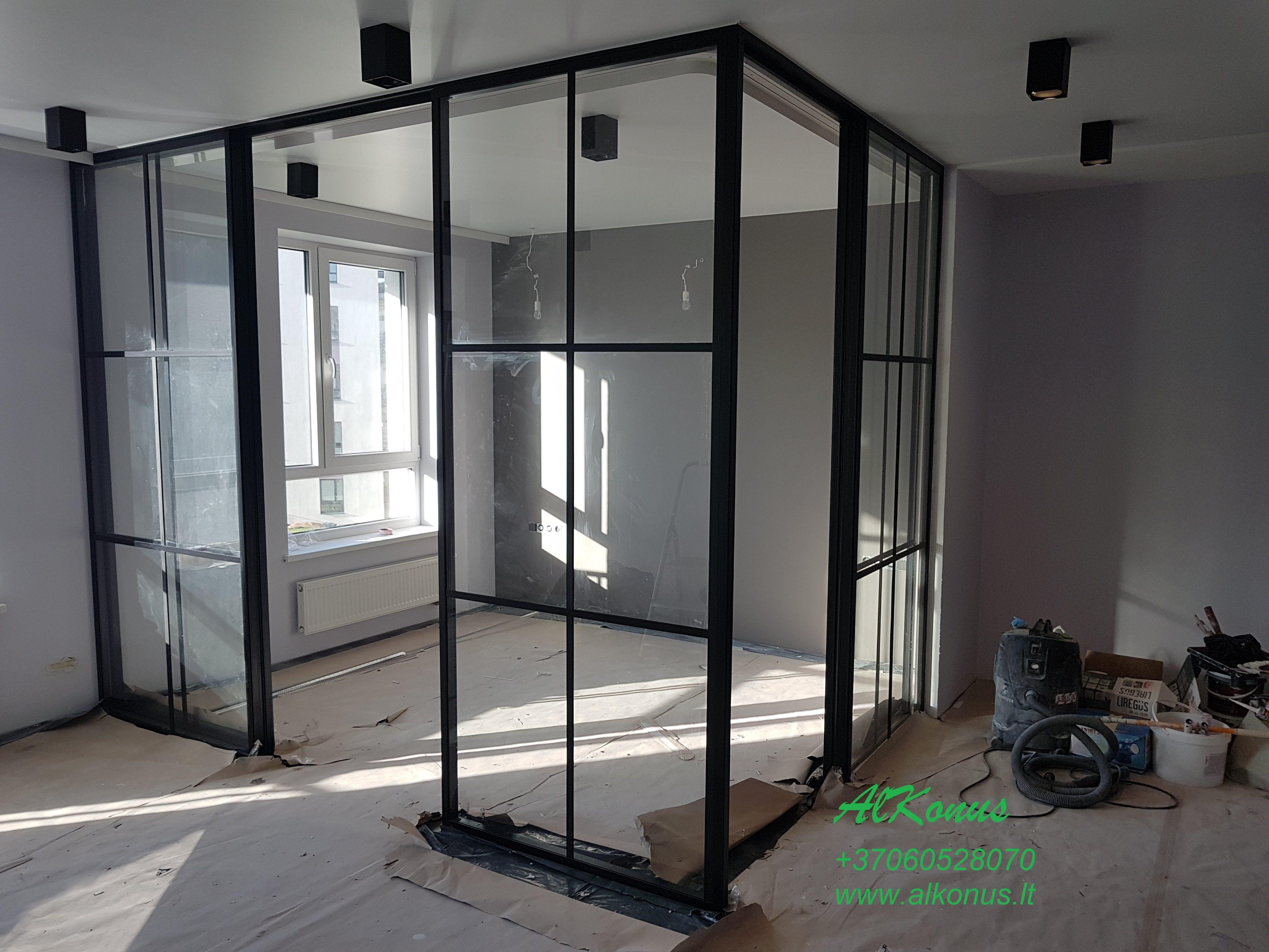 stiklo baliustrados sistemos glazgas)