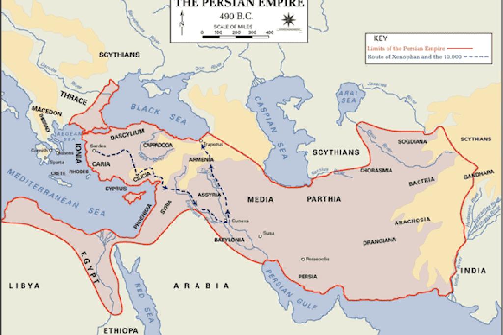 imperijų amžius persų strategija)