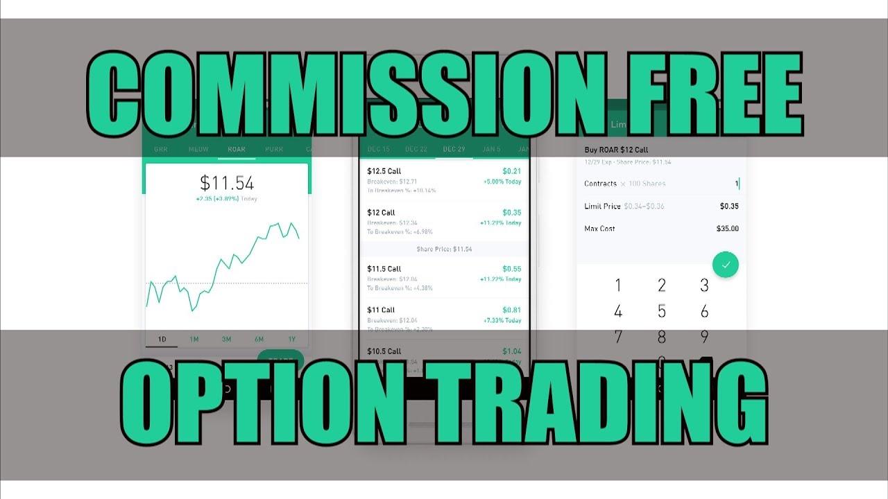 robinhood option trading tutorial)