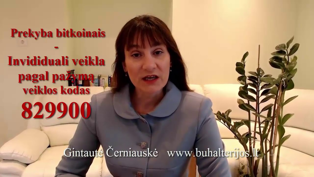 t  prekyba bitkoinais)