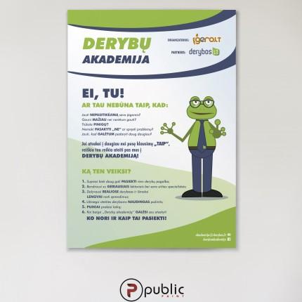 populiariausių strategijų plakatas)