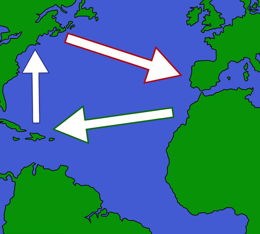 Trikampio prekybos apibrėžimas (Rumo ir vergų prekyba) -