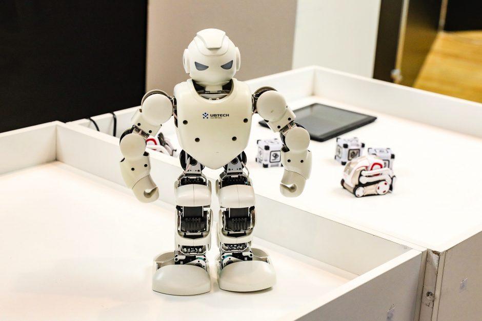 prekybos sistemos robotas)