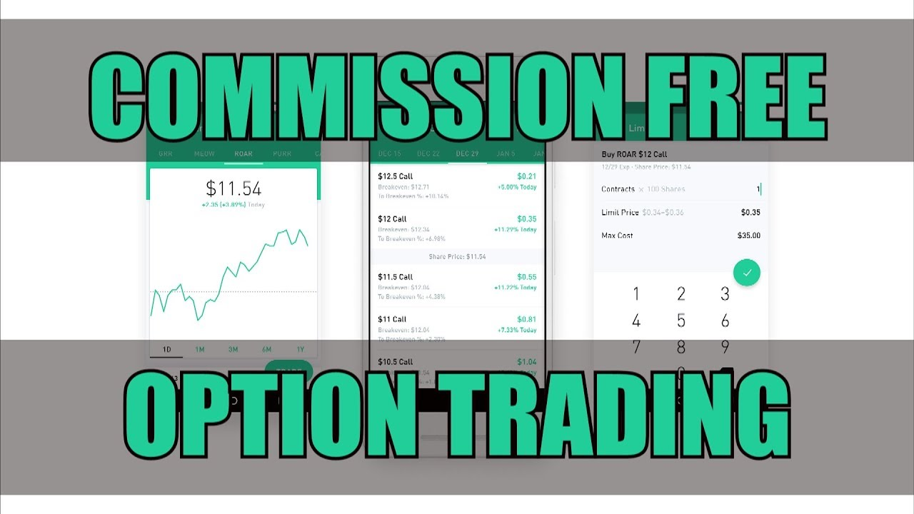robinhood option trading tutorial